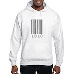 Lolo Barcode Hooded Sweatshirt