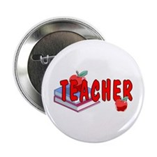 "Red Apples 2.25"" Button (10 pack)"