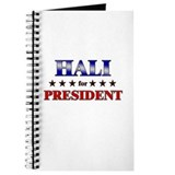 HALI for president Journal