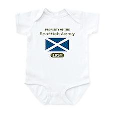 Scottish Army Infant Bodysuit