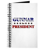 GUNNAR for president Journal