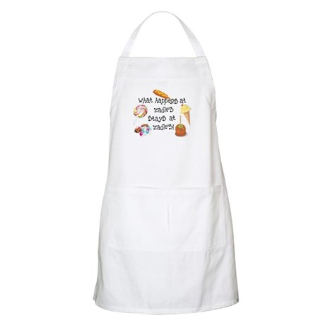 What Happens at Zadie's... BBQ Apron