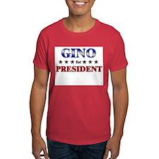 GINO for president T-Shirt