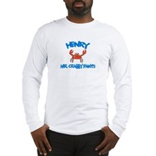 Henry - Mr. Crabby Pants Long Sleeve T-Shirt