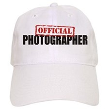 Official Photographer Baseball Cap