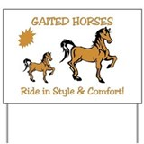 Cute Horse sign Yard Sign