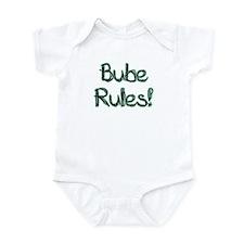 Bube Rules! Baby Onesie