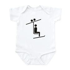Ski Lift Infant Bodysuit