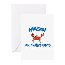 Mason -  Mr. Crabby Pants  Greeting Cards (Pk of 1