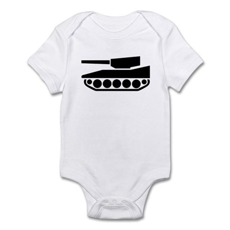 Tank Crossing Infant Bodysuit