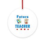Future Teacher Ornament (Round)