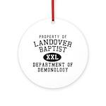 Demonology Ornament (Round)