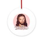 Liberal Jew Ornament (Round)