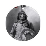 Fool Bull - Lakota Ornament (Round)