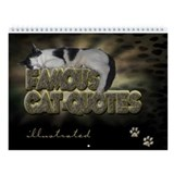 Wall Calendar &quot;Cat Quotes illustrated&quot;