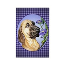 Great Dane Fawn Glory Rectangle Magnet
