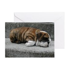 Sleeping Baby Chubbs Card