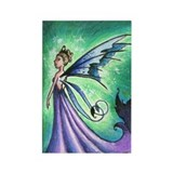 Queen Mab Rectangle Magnet