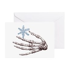 Skeletal Snowflake Holiday Cards (Pk of 20)
