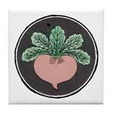 Red Beet Tile Coaster