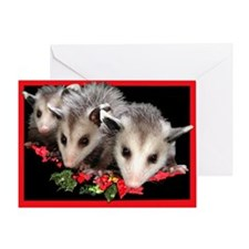 Christmas Critters Greeting Card