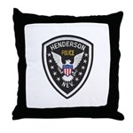 Henderson Police Throw Pillow