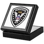 Henderson Police Keepsake Box