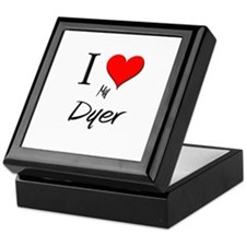 I Love My Dyer Keepsake Box