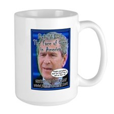 Behold The Face Of Greed Mug