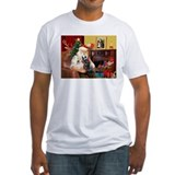 Santa's two Scotties (P1) Shirt