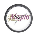 MEGAN Wall Clock
