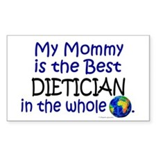 Best Dietician In The World (Mommy) Decal
