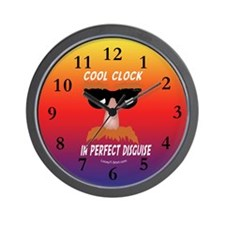 Perfect Disguise Wall Clock