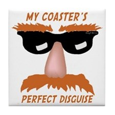 Perfect Disguise Tile Coaster
