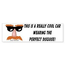 Perfect Disguise Bumper Bumper Sticker