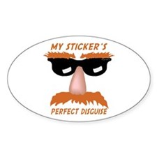 Perfect Disguise Oval Decal