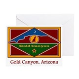 Gold Canyon AZ Flag Greeting Cards (Pk of 10)