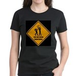 You Are Being Monitored Women's Dark T-Shirt