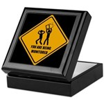 You Are Being Monitored Keepsake Box