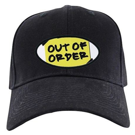 out of order baseball hat by bizarretshirts