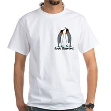 Just Married Penguins Shirt