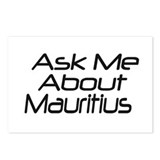 ask me Mauritius Postcards (Package of 8)