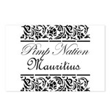 pimp nation Mauritius Postcards (Package of 8)