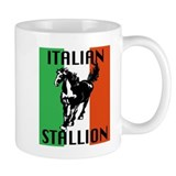 Italian Stallion Small Mugs