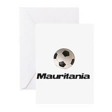 Mauritania soccer Greeting Cards (Pk of 10)