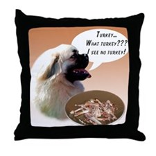 Tibbie Turkey Throw Pillow