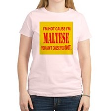 hot maltese T-Shirt