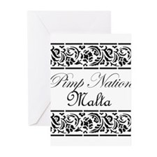 Pimp nation Malta Greeting Cards (Pk of 20)