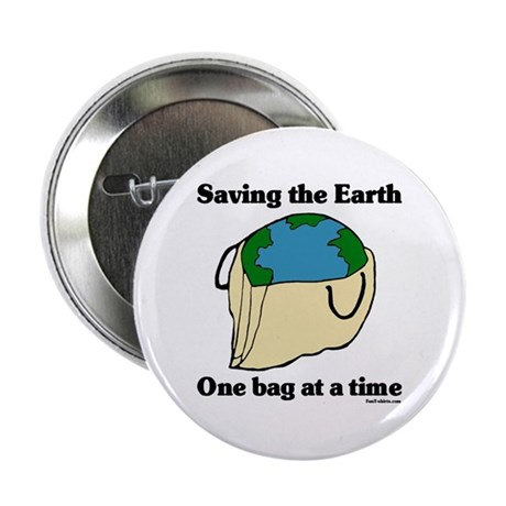 "Saving the Earth 2.25"" Button (10 pack)"