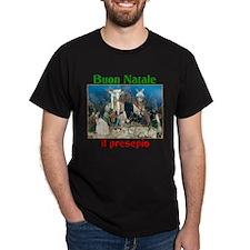 Buon Natale (Merry Christmas) Il Presepio T-Shirt
